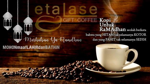 "KURMA Etalase ""Gift&Coffee"" - Bukan CoffeeShop, tapi ADO kopi di Jam 16.00 - 24.00 Waktu Jambi Bagian Sipin"