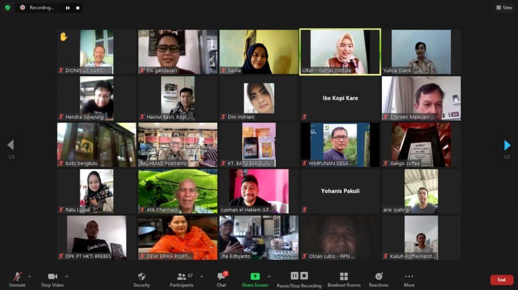 "Virtual ""Indonesia Coffee Expo"" 2021"