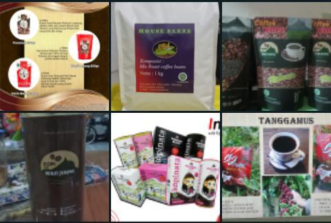 Beberapa produk kopi Indonesia Coffee Expo 2021